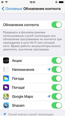 Ускоряем работу iPhone 4 и 4s на iOS 7 инструкция