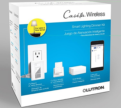 Caseta Wireless Lighting Starter Kit