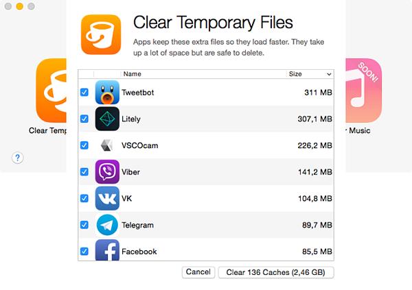 Очистка памяти приложений айфон