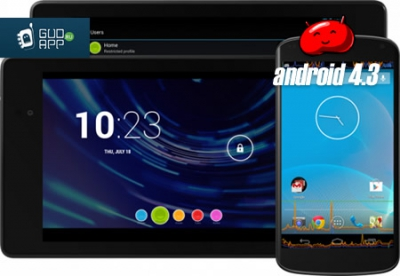 Компания Google представила Android 4.3 Jelly Bean  [релиз]