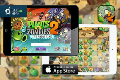 В российском App Store вышла игра Plants vs. Zombies 2: It's About Time